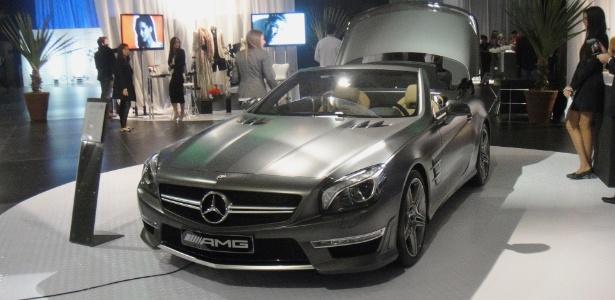 Novo Mercedes-Benz SL 63 AMG no estande da marca no Boat Show 2012: exclusividade e preço de iate - André Deliberato/UOL