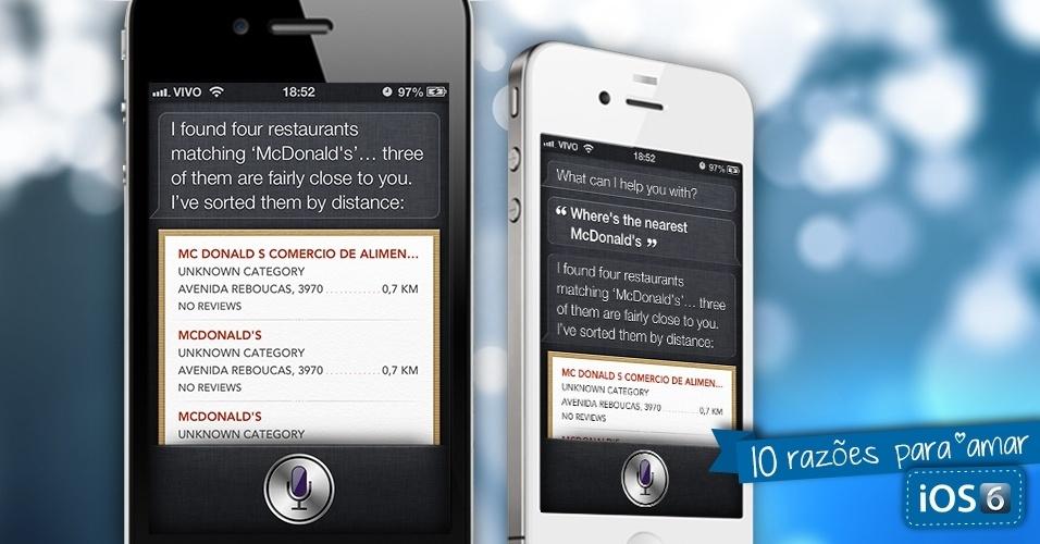 Razões para amar o sistema iOS 6