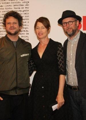 "Jonathan Dayton e Valerie Faris na première de ""Rubby Sparks - A Namorada Perfeita"", no Cine Odeon BR, no Centro (28/9/12)"