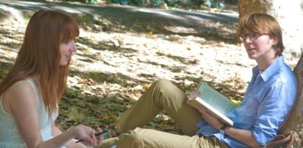 """Zoe Kazan e Paul Dano em cena de """"Ruby Sparks - A Namorada Perfeita"""" (2012)"""