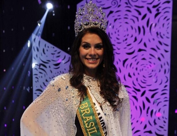 A representante do Rio Grande do Sul, Gabriela Markus, vence o Miss Brasil 2012