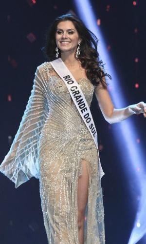 A vencedora do Miss Brasil 2012 é a gaúcha Gabriela Markus, 23 anos, 1,80 m