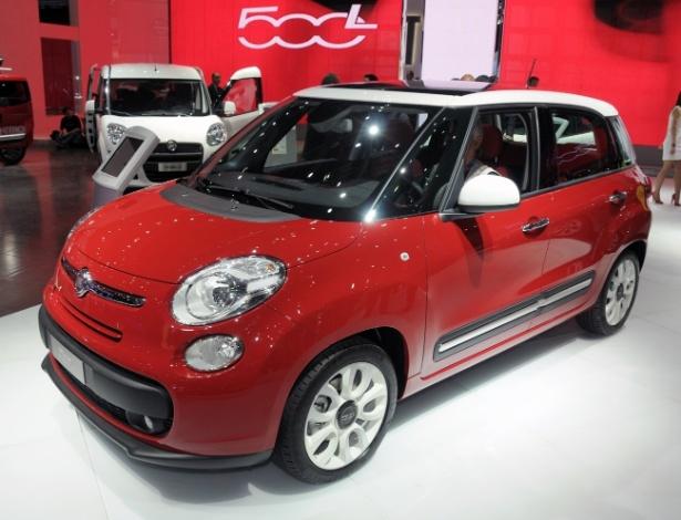Fiat 500L na versão Pop Star 1.4: venda dessa multivan no Brasil é hipótese ainda remota - Murilo Góes/UOL