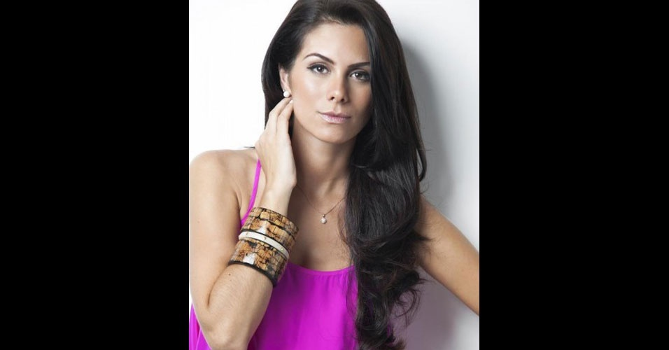 Gabriela Markus, ainda representando o município de Teutônia no Miss Rio Grande do Sul 2012. A gaúcha foi eleita a nova Miss Brasil e vai representar o país no Miss Universo 2012