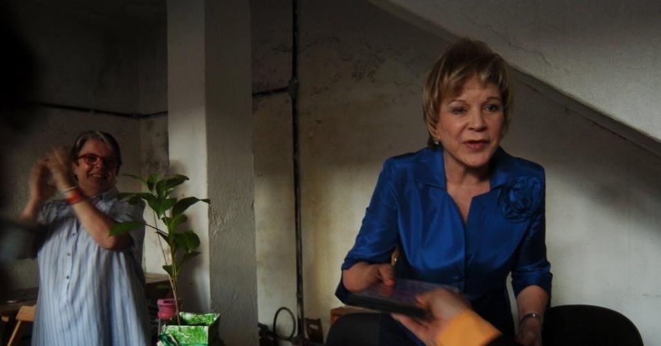1°.out.2012 - A ministra da Cultura, Marta Suplicy, participa de reunião com integrantes da ONG Coletivo Digital, nesta segunda-feira