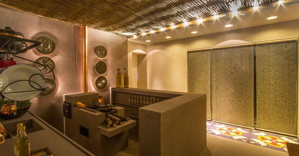A ideia do espaço, da arquiteta Viviane Lima, é mostrar o trabalho dos artesãos da Central Mãos de Minas. Uma