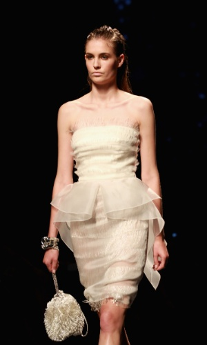 Desfile de Alberta Ferretti na semana de moda de Milão (19/09/2012)