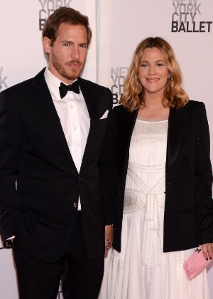 Drew Barrymore e o ex-marido, Will Kopelman; casal tem duas filhas - Getty Image