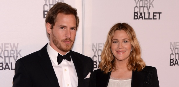 Drew Barrymore e o marido, Will Kopelman - Getty Image