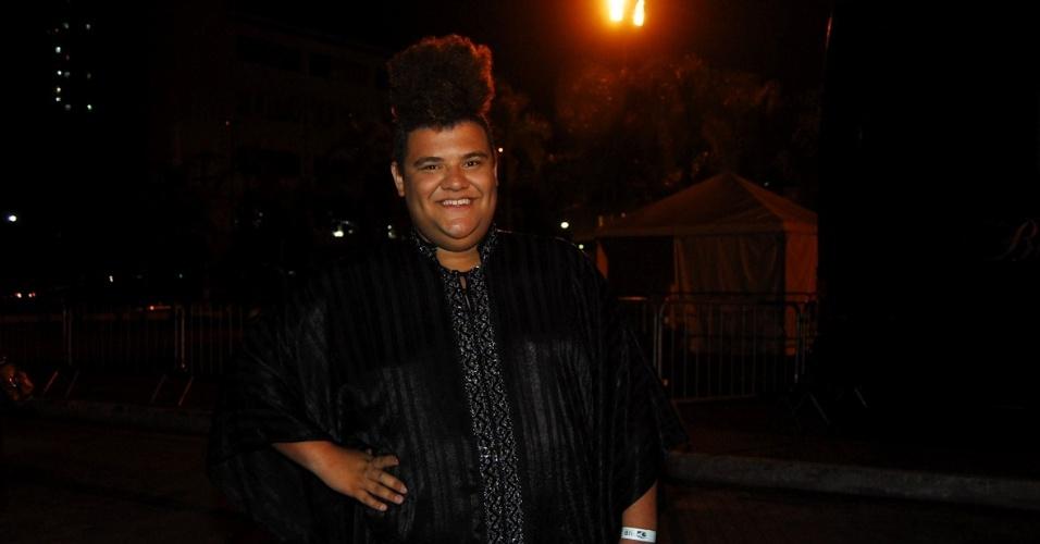 O apresentador Gominho no 11º Prêmio Jovem Brasileiro no Memorial da América Latina, em São Paulo. O prêmio homenageia os jovens talentos brasileiros em 21 categorias, concedido após votação de júri composto por jornalistas, colunistas, críticos e por votação na internet (1/10/12)