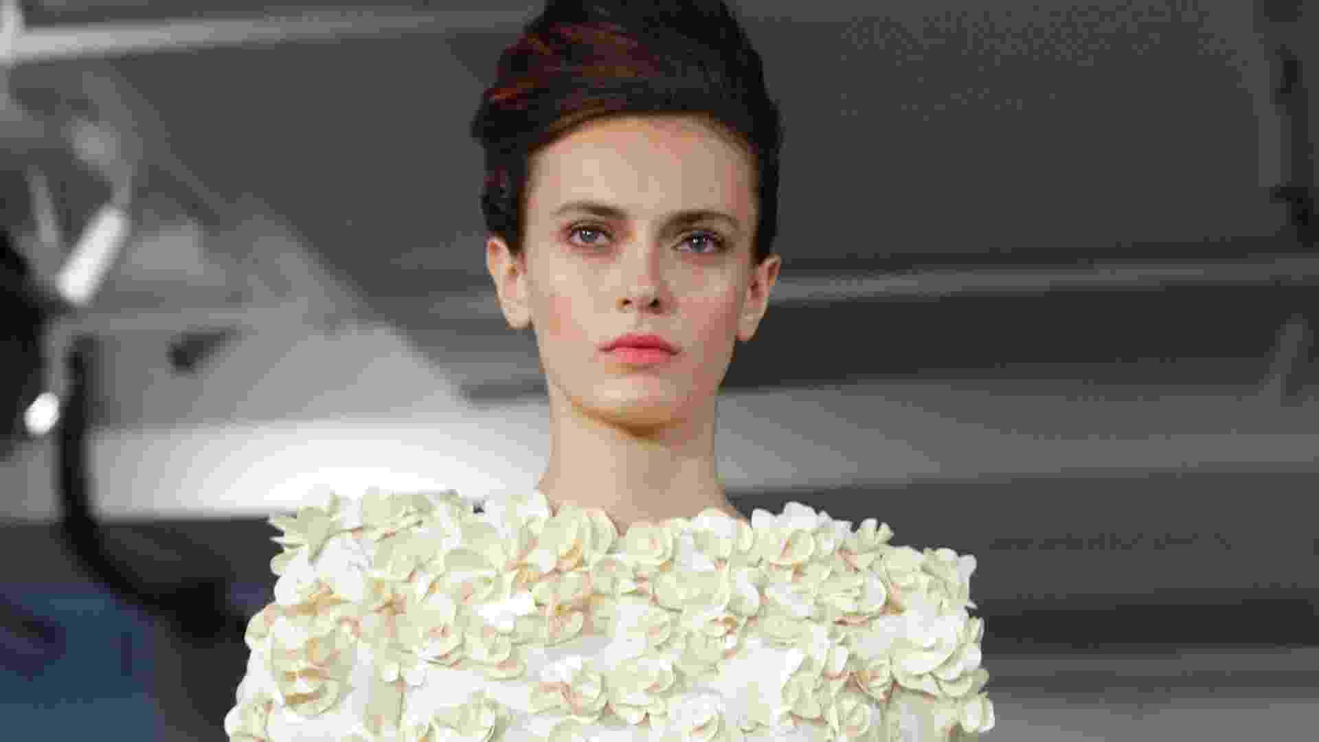 Desfile de Oscar de la Renta na semana de moda de Nova York Primavera/Verão 2013 (11/09/2012) - Kathy Willens/AP