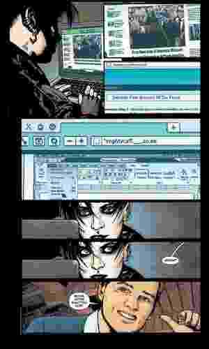 """Página da graphic novel """"Os Homens que Não Amavam as Mulheres"""", que será lançada pela DC Comics em 13 de novembro - Reprodução"""