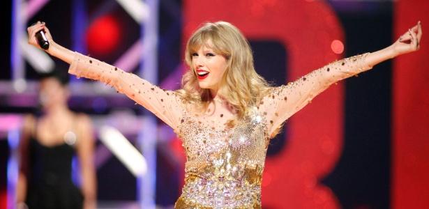 Taylor Swift em show no segundo dia da iHeartRadio Music Festival 2012 em Las Vegas (22/9/2012) - REUTERS/Steve Marcus