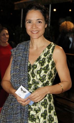 """A atriz Tereza Seiblitz na pré estréia do filme """"Coleção Invisível"""" no Festival do Rio, no Cine Odeon, Centro (2/10/12)"""