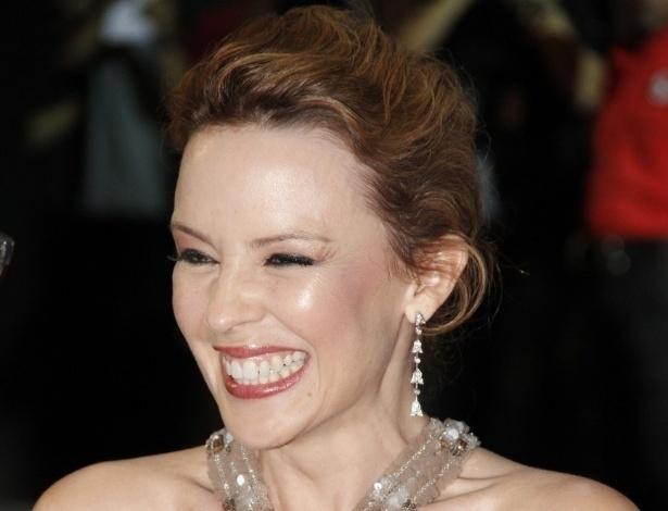 A cantora Kylie Minogue no tapete vermelho do Cine Odeon BR, no Festival do Rio (2/10/12)