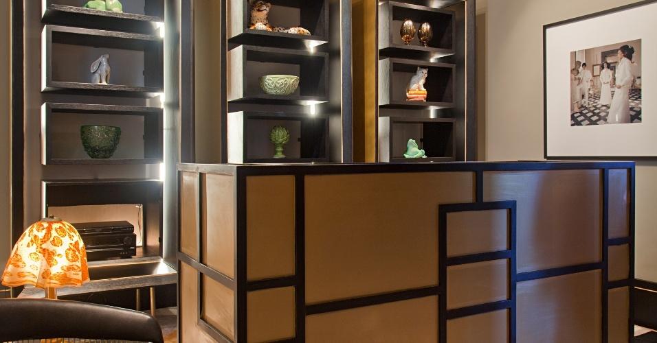 A coleção primavera-verão da Gucci 2012, com referências art déco, inspirou a Loja da Casa projetada por Juliana Vasconcellos e Carlos Maia. A Casa Cor RJ vai de 03 de outubro a 19 de novembro de 2012, no Rio de Janeiro