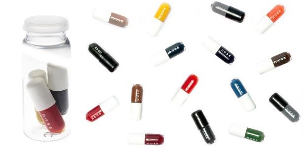 """Vendido em trios de cápsulas com aplicação única, este é para quem é """"viciada"""" em esmaltes - Divulgação"""