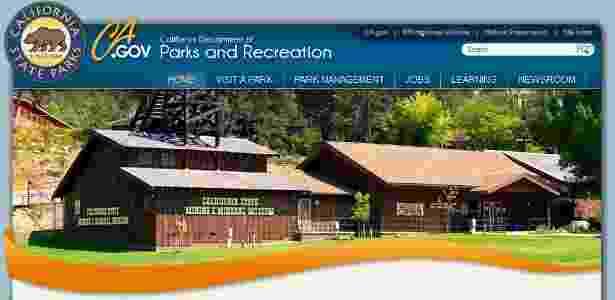 Foto do site do Museu de Minas e Mineração do Estado da Califórnia (out/12) - Reprodução/www.parks.ca.gov/