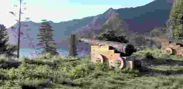Imagem da ilha Robinson Crusoé - BBC