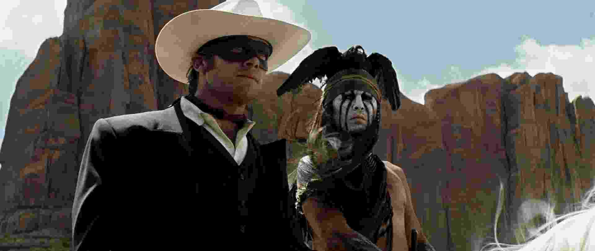"""Johnny Depp encarna índio em """"O Cavaleiro Solitário"""", novo filme de Gore VerbinskI - Divulgação / Disney"""