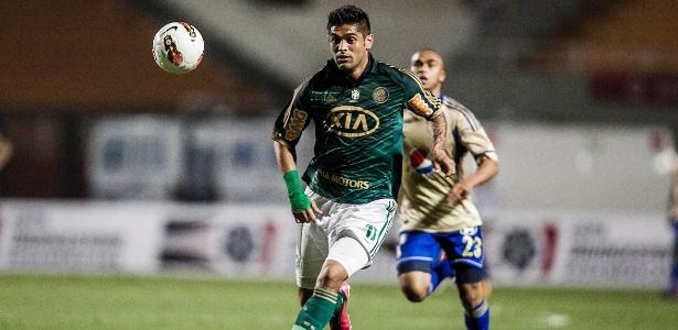 Luan representou o Palmeiras em 117 partidas e assinalou 23 gols