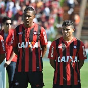 Marcão e Maranhão, atletas do Atlético-PR