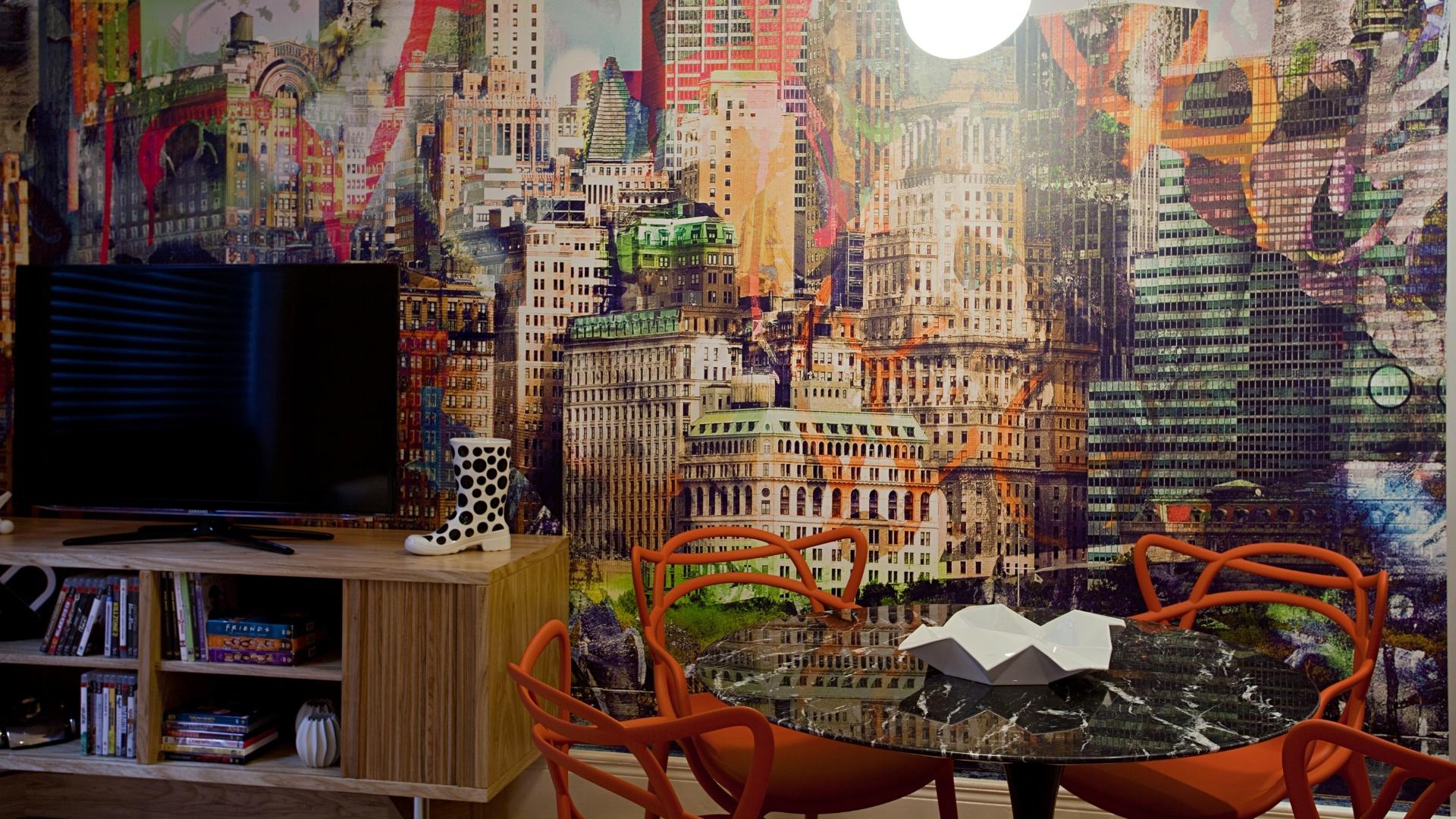 O Apartamento dos Filhos, criado pela arquiteta Marise Marini, divide os 32 m² disponíveis em living (foto), um quarto para o menino de 16 anos e outro para a menina de 14 anos, além de um banheiro que atende aos dois dormitórios. A Casa Cor RJ vai de 03 de outubro a 19 de novembro de 2012, no Rio de Janeiro