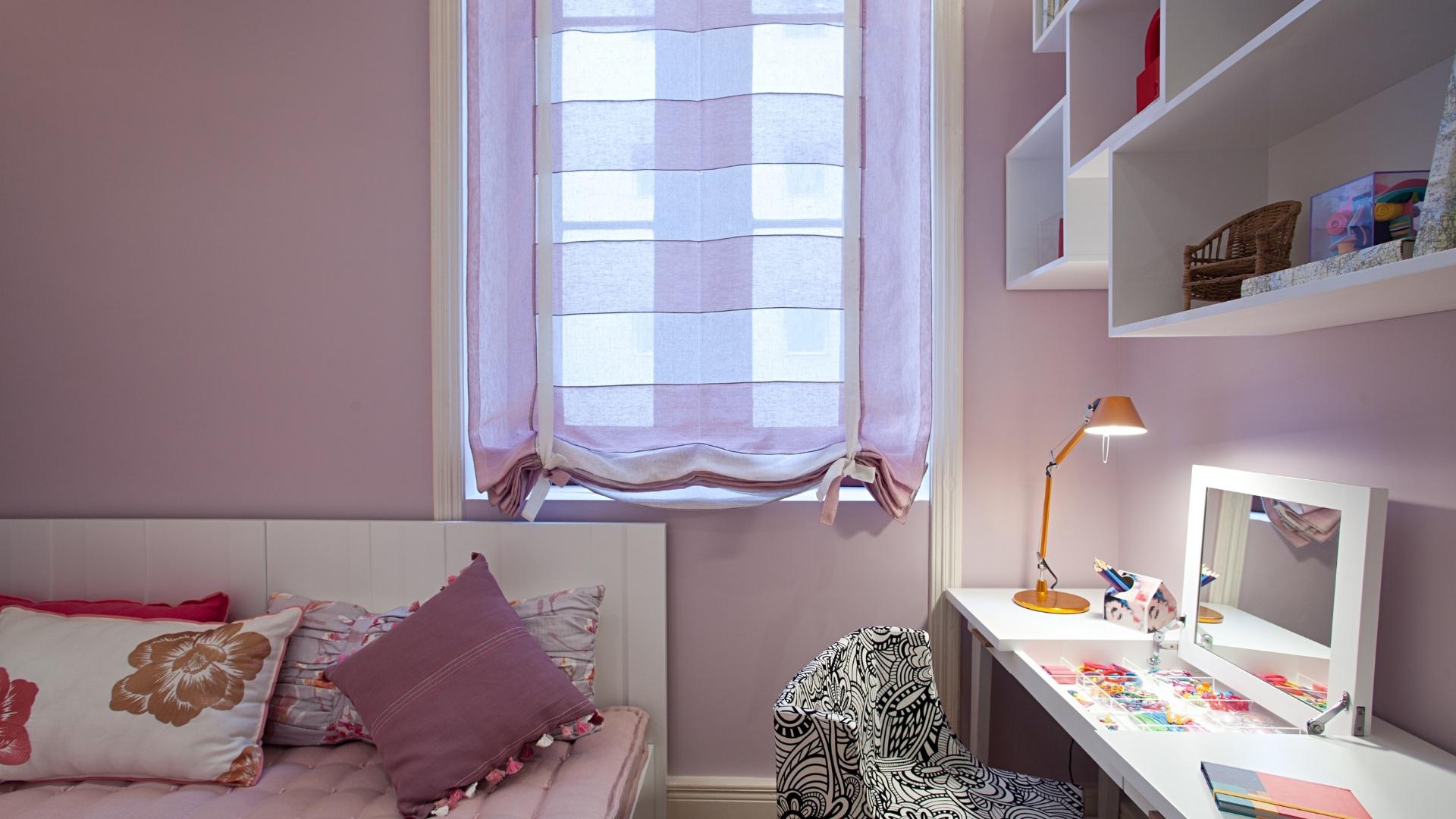 O Apartamento dos Filhos, criado pela arquiteta Marise Marini, divide os 32 m² disponíveis em living, um quarto para o menino de 16 anos e outro para a menina de 14 anos (foto), além de um banheiro que atende aos dois dormitórios. A Casa Cor RJ vai de 03 de outubro a 19 de novembro de 2012, no Rio de Janeiro