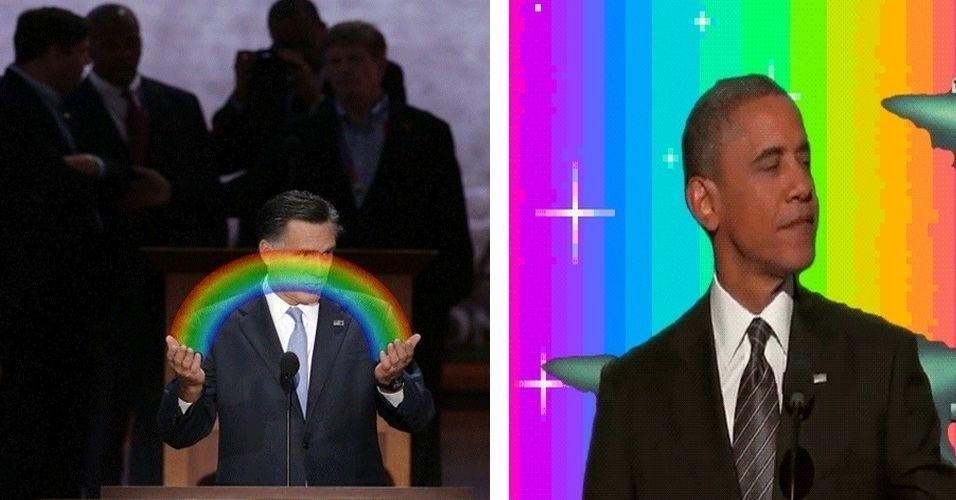 O Tumblr Gifwich publica gifs animados de vários tipos diferentes, incluindo animais e a política, especialmente a campanha presidencial americana. O Tumblr também aceita colaboração dos internautas