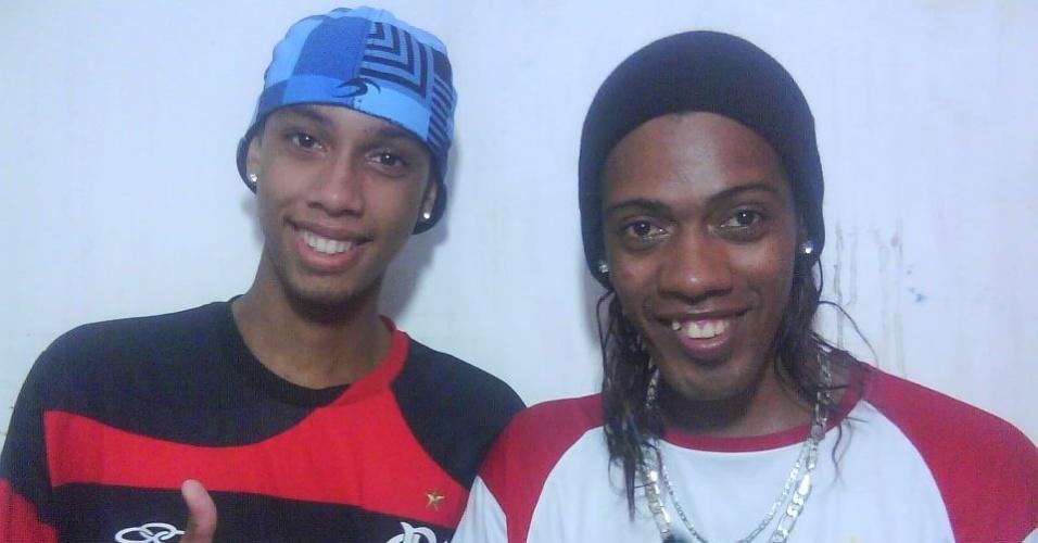 Sósia de Ronaldinho Gaúcho, Robson Oliveira mudou de Alagoas para o Rio, quando o craque foi para o Flamengo
