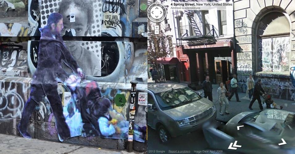 Street Ghosts - projeto do artista Paolo Cirio com imagens do Street View