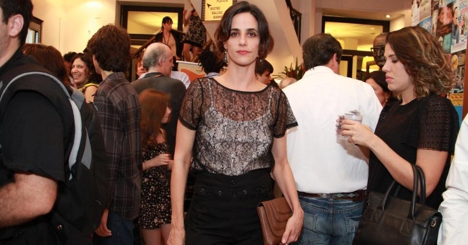 """A atriz Mariana Lima na estreia do filme """"A Busca"""" no Festival do Rio, no Cine Odeon, centro, Rio de Janeiro (3/10/12)"""