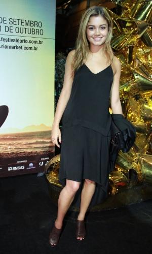"""A atriz Sophie Charlotte na estreia do filme """"A Busca"""" no Festival do Rio, no Cine Odeon, centro, Rio de Janeiro (3/10/12)"""