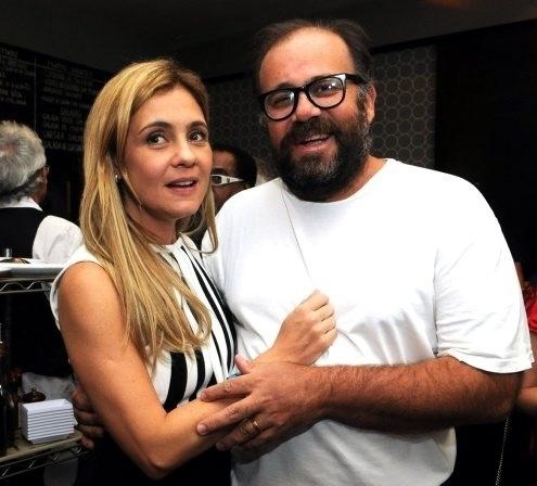 """Adriana Esteves e Otávio Müller na pré-estréia do filme """"Coleção Invisível"""" no Festival do Rio (2/10/12)"""
