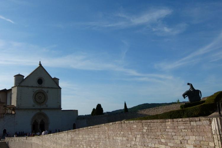 Cidade de Assis, na Itália