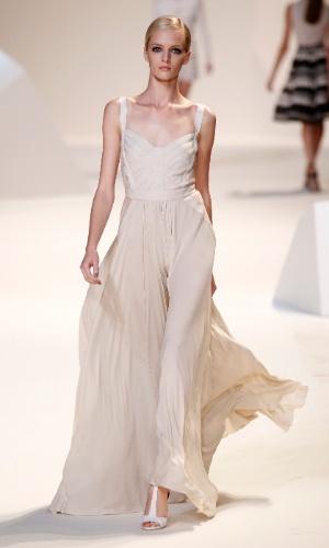 Desfile do estilista Elie Saab na semana de moda de Paris Primavera/Verão 2013 (03/09/2012)