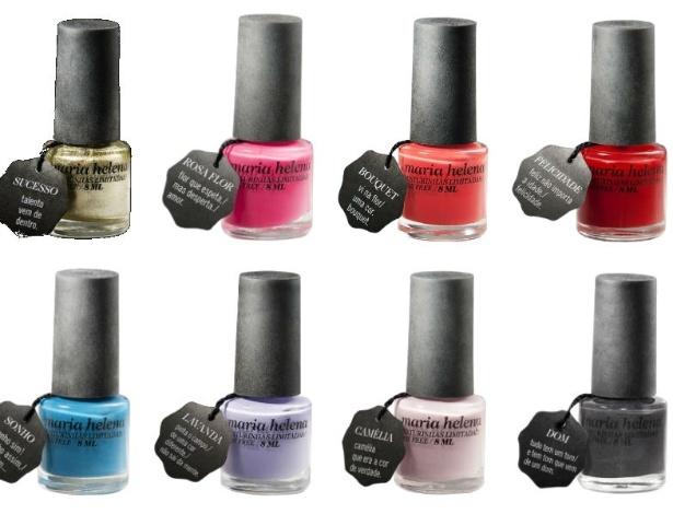 Coleção Origem: as oito cores de lançamento da marca Maria Helena Misturinhas Limitadas - Divulgação
