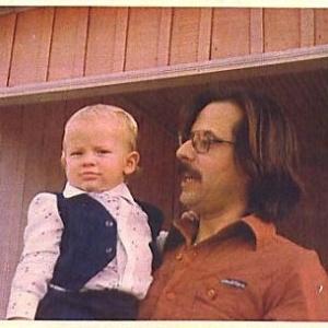 José Dirceu, com seu filho Zeca, em Cruzeiro do Oeste, em 1978