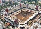 Obras na Arena da Baixada - Divulgação