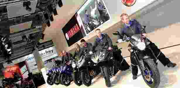 Yamaha teve apresentação apática no Salão de Colônia 2012 e não revelou novos modelos no evento - Arthur Caldeira/Infomoto