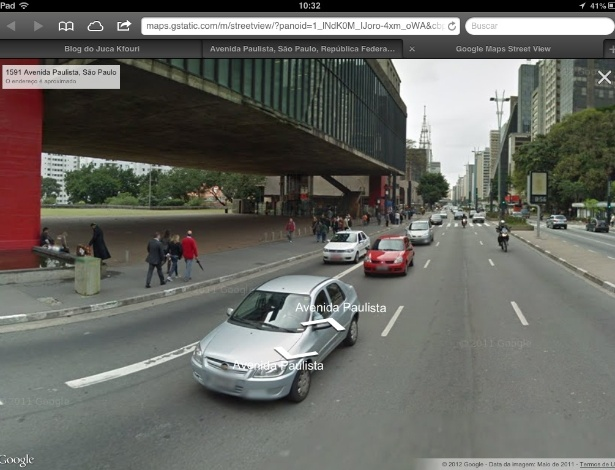 google street view iphone maps na web adiciona 231 227 o view para iphone 2942