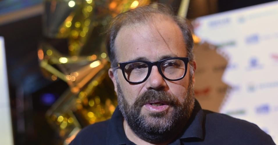 """O ator Otávio Muller prestigiou a première do filme """"O Gorila"""" no Cine Odeon, centro do Rio (4/10/12)"""