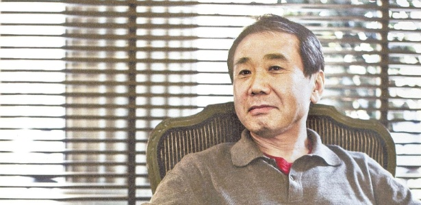 O escritor japonês Haruki Murakami, um dos favoristos ao Nobel de Literatura deste ano - Reprodução