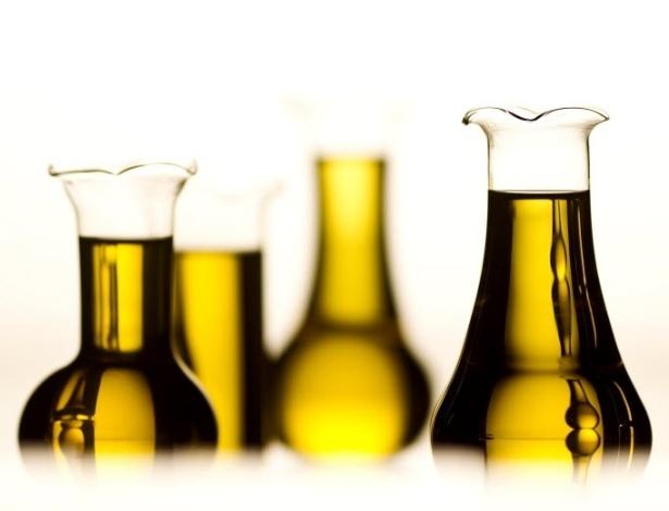 vidros de azeite