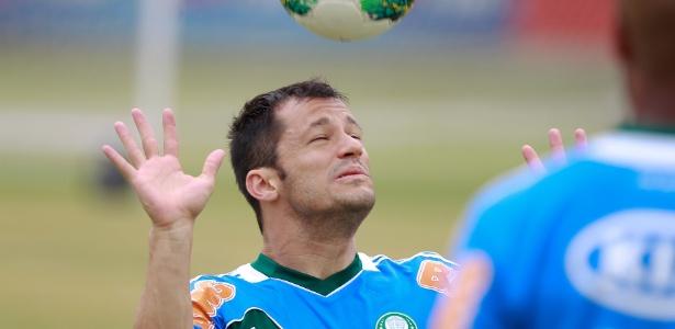 Corrêa pouco fez na sua segunda passagem pela equipe do Palestra Itália