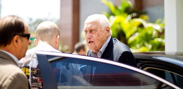 Havelange estava com saúde debilitada havia cinco anos; internação por pneumonia em julho - Daniel Marenco/Folhapress