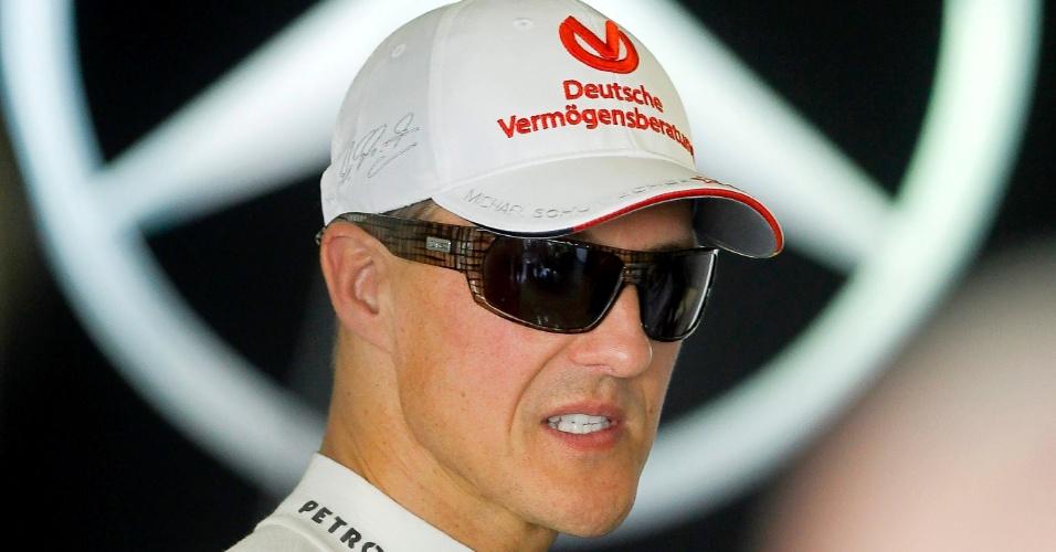 Michael Schumacher, da Mercedes, vai se aposentar ao final da temporada