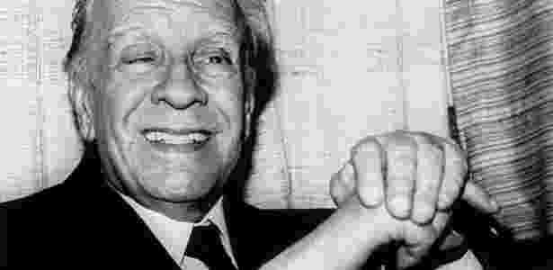 """O escritor Jorge Luis Borges, que escreveu um final diferente para o conto """"Tema do Traidor e do Herói"""" - AFP"""