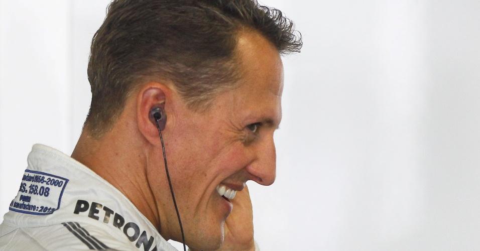 O heptacampeão Michael Schumacher vai se aposentar ao final da temporada
