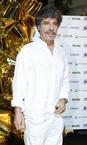 """Paulo Betti prestigiou a exibição do filme """"Marina Abramovic - Artista Presente"""", no Cine Odeon BR, no centro do Rio (5/10/12)"""